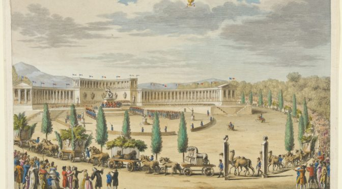 1798: Napoleonischer Triumphzug mit Beutekunst